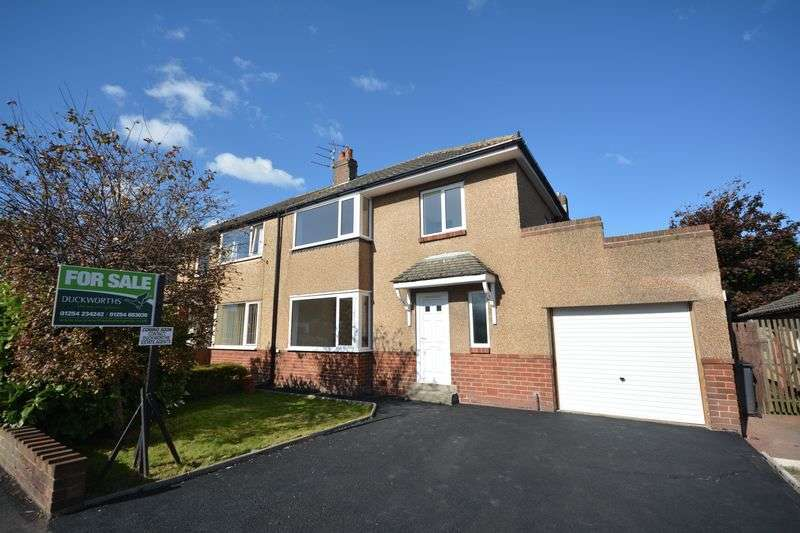 3 Bedrooms Semi Detached House for sale in Downham Avenue, Great Harwood