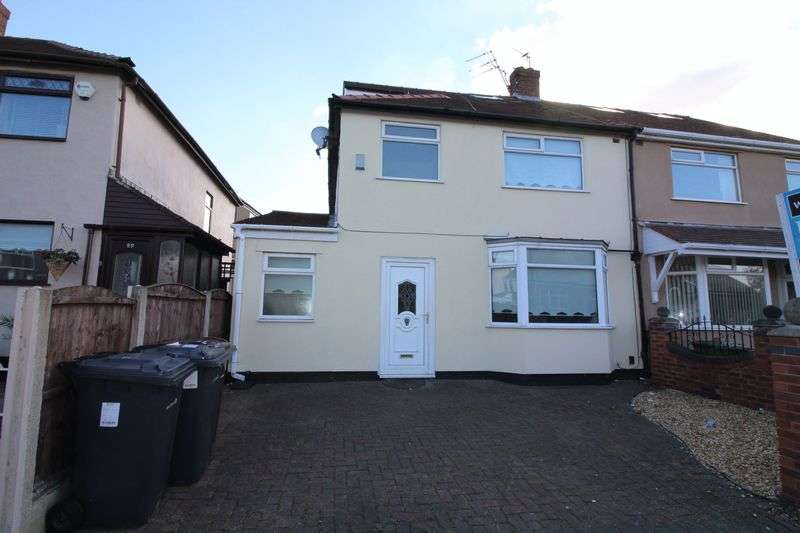 4 Bedrooms Semi Detached House for sale in Sonning Avenue, Liverpool