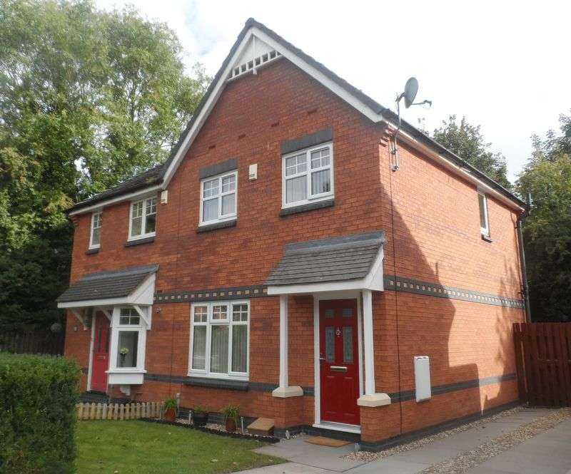 3 Bedrooms Semi Detached House for sale in Moss Valley Road, Wrexham