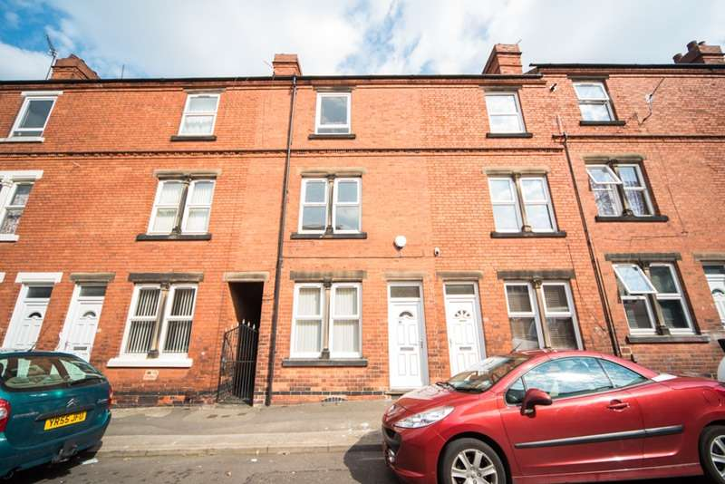 3 Bedrooms Terraced House for sale in Eland Street, Nottingham, Nottinghamshire, NG7