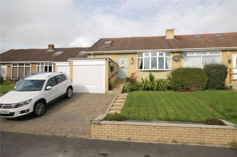 3 Bedrooms Semi Detached Bungalow for sale in Foxhills Crescent, Lanchester, Durham, DH7