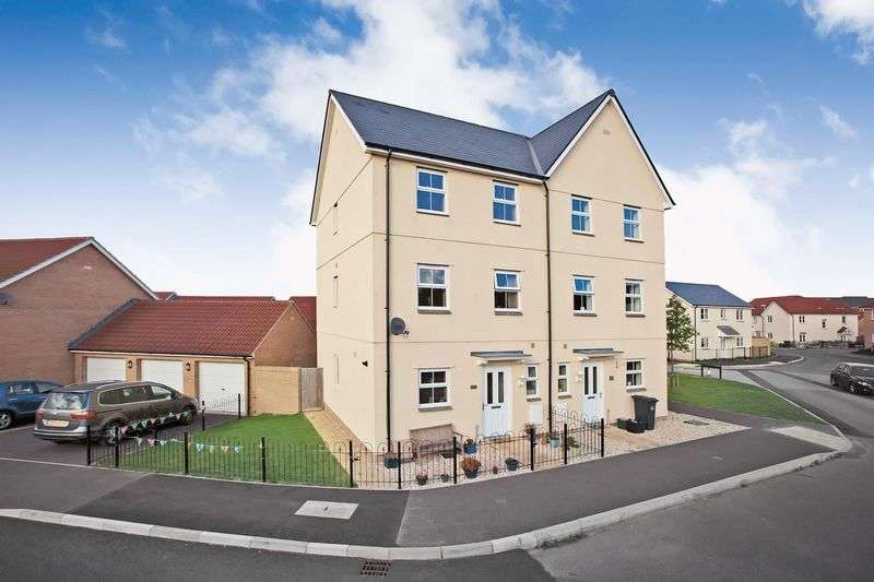 4 Bedrooms Semi Detached House for sale in Tundra Walk, Stockmoor, Bridgwater