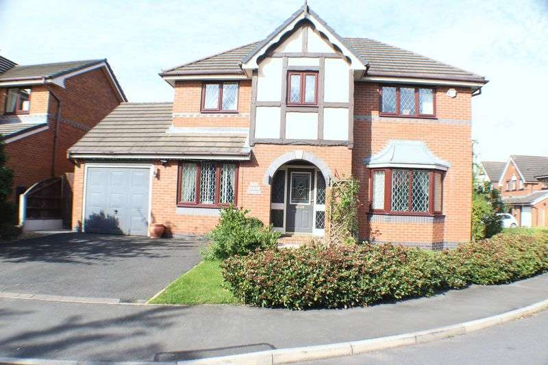 4 Bedrooms Detached House for sale in Janes Meadow, Tarleton