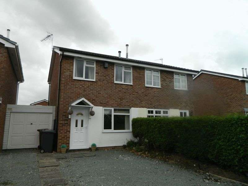 2 Bedrooms Semi Detached House for sale in Palmer Road, Sandbach