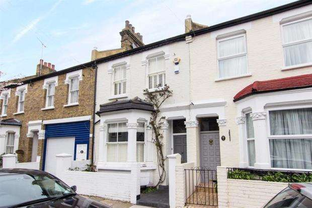 4 Bedrooms Terraced House for sale in Disbrowe Road, London, W6