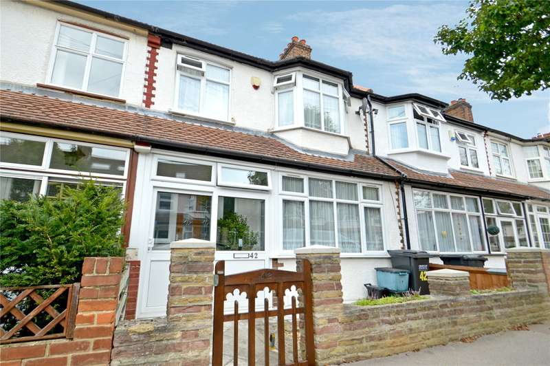 3 Bedrooms Terraced House for sale in Cromer Road, London