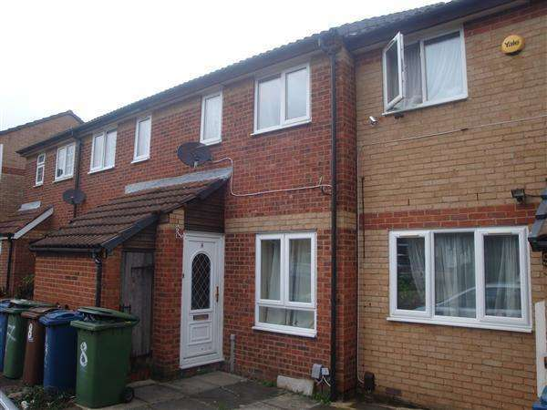 2 Bedrooms Terraced House for sale in Daintry Close, Kenton