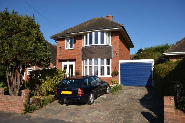 3 Bedrooms Detached House for sale in Halsdon Avenue, Exmouth, Devon