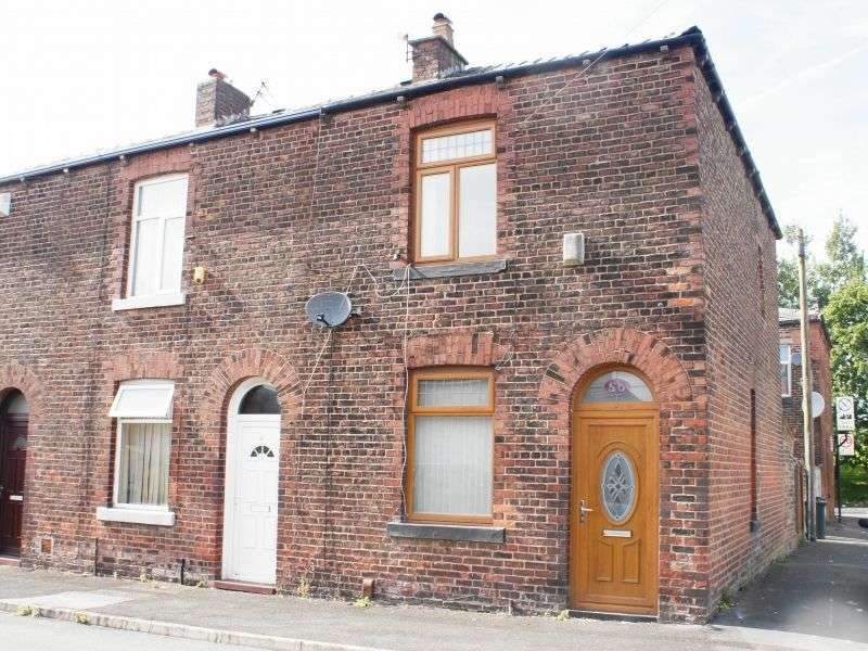 2 Bedrooms End Of Terrace House for sale in Moorcroft Street, Oldham, Greater Manchester. OL8 3TS