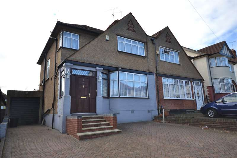 3 Bedrooms Semi Detached House for sale in Highview Gardens, Edgware, HA8