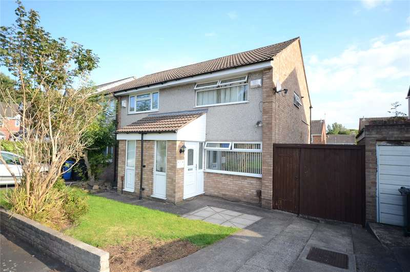 2 Bedrooms Semi Detached House for sale in Trispen Close, Halewood, Liverpool, L26