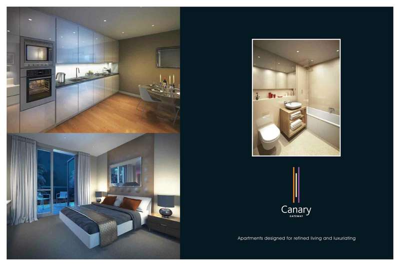 2 Bedrooms Apartment Flat for sale in Canary Gateway, Limehouse