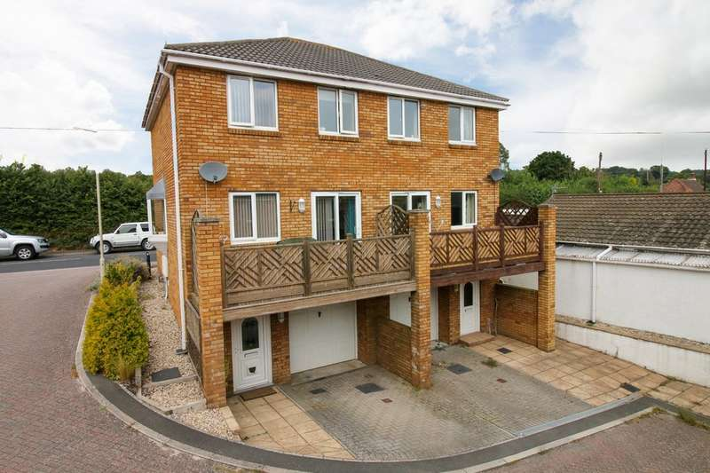 3 Bedrooms Semi Detached House for sale in Voisey Close, Chudleigh Knighton