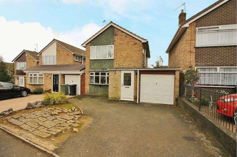 3 Bedrooms Detached House for sale in Hamilton Drive, Wordsley