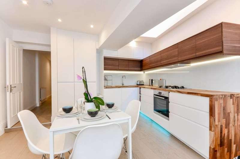 3 Bedrooms Flat for sale in Ellingham Road, Shepherd's Bush, W12