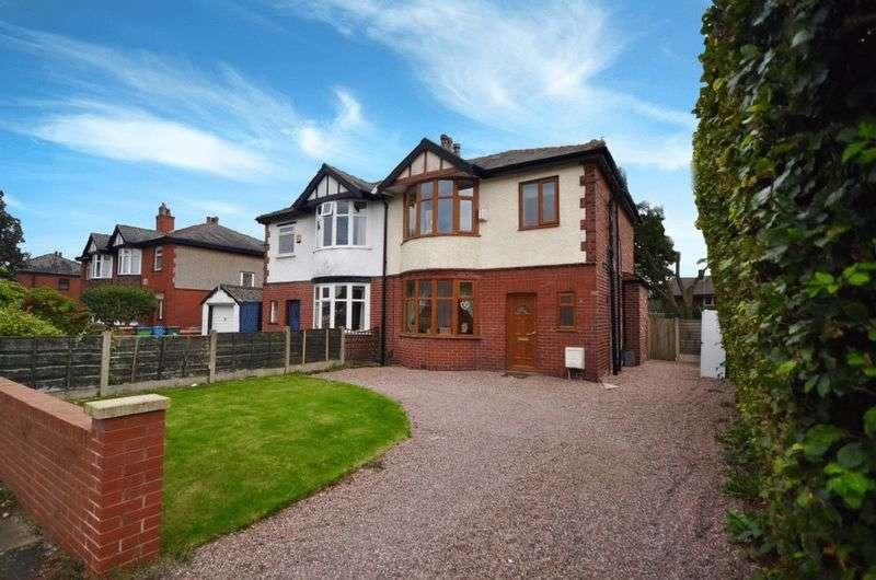 3 Bedrooms Semi Detached House for sale in Bury Old Road, Heywood