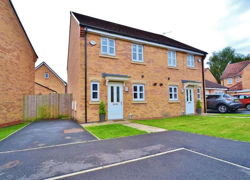 3 Bedrooms Semi Detached House for sale in Christie Lane, Salford