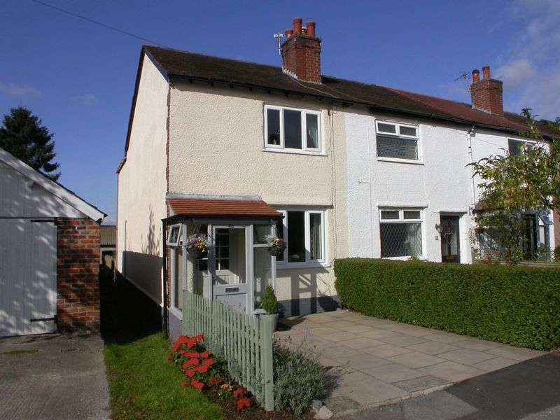 2 Bedrooms Terraced House for sale in HIGHER POYNTON (SHRIGLEY ROAD NORTH)