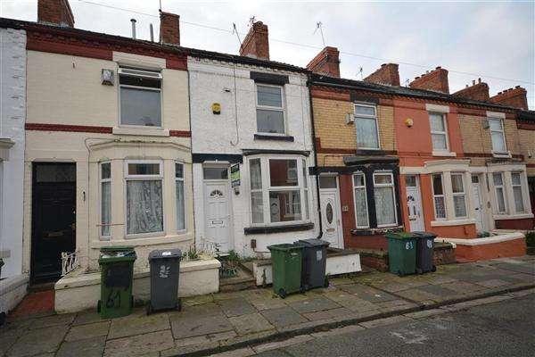 2 Bedrooms Terraced House for sale in Harrowby Road, Birkenhead