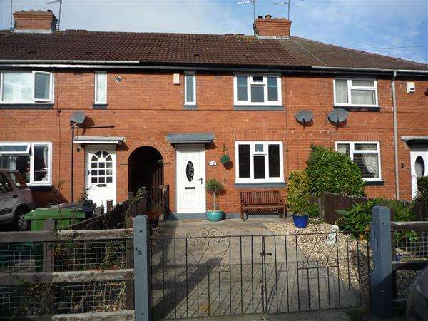 2 Bedrooms Terraced House for sale in Splading Avenue, Clifton, York