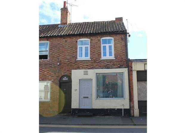 2 Bedrooms End Of Terrace House for sale in Albert Street, Newark, Nottinghamshire