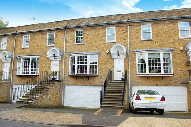 4 Bedrooms Terraced House for sale in Hogarth Way, Hampton