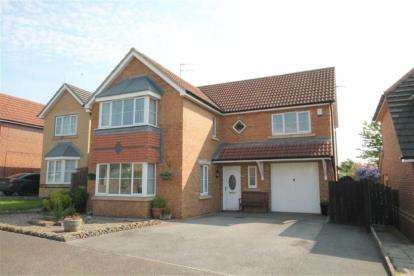 4 Bedrooms Detached House for sale in Abbots Green, Willington, Crook, Durham, DL15