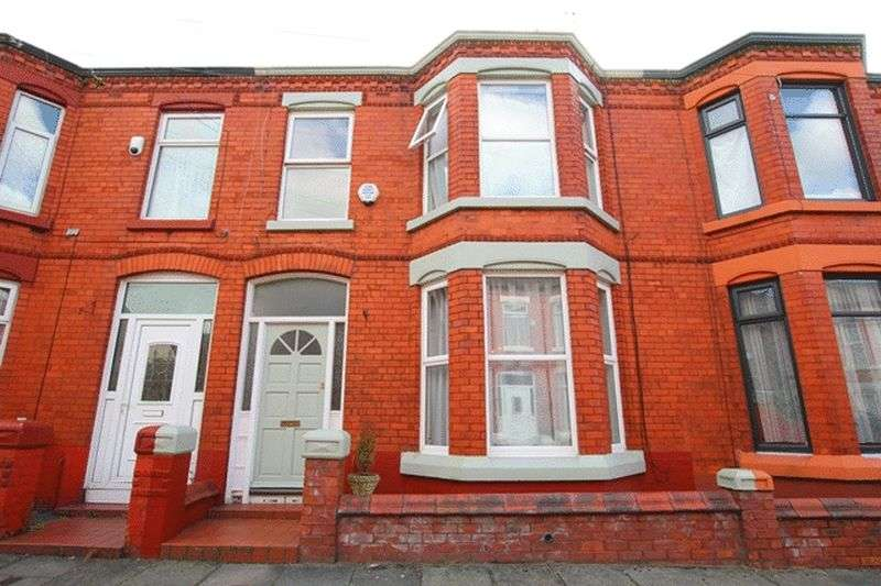 3 Bedrooms Terraced House for sale in Cromer Road, Aigburth, Liverpool, L17