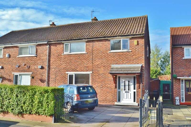 4 Bedrooms Semi Detached House for sale in Foxhill Road, Eccles