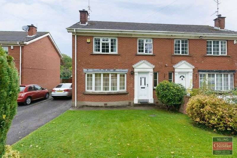 4 Bedrooms Semi Detached House for sale in 12 Newton Heights, Belfast, BT8 6HA