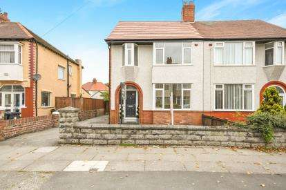 3 Bedrooms Semi Detached House for sale in Cranfield Road, Crosby, Liverpool, Merseyside, L23