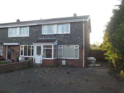 3 Bedrooms End Of Terrace House for sale in Southburn Close, Houghton Le Spring, Tyne and Wear, DH4