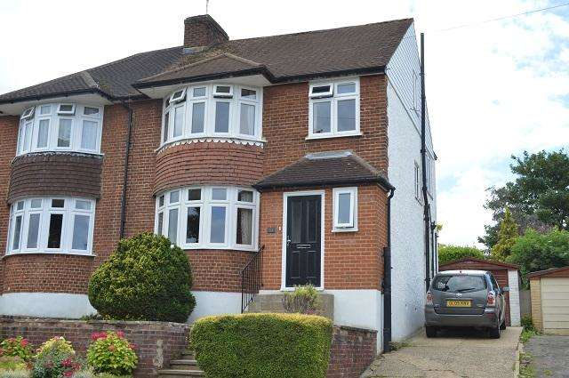 4 Bedrooms Semi Detached House for sale in Felstead Road, Orpington, Kent, BR6 9AE