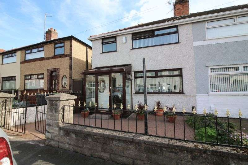 3 Bedrooms Semi Detached House for sale in Windsor Avenue, Liverpool