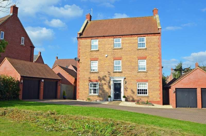 6 Bedrooms Detached House for sale in Tuthill Furlong, Coton Park, Rugby