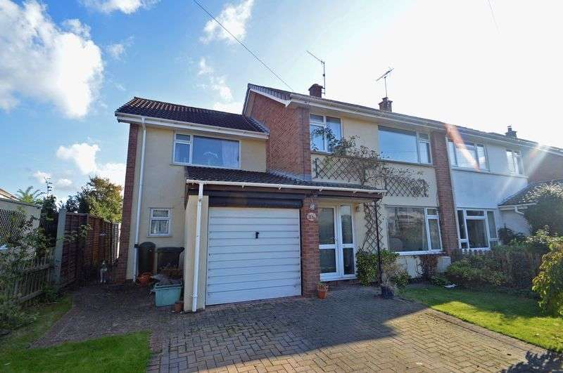 5 Bedrooms Semi Detached House for sale in Chestnut Drive, Claverham