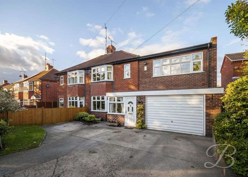 4 Bedrooms Semi Detached House for sale in Eakring Road, Mansfield
