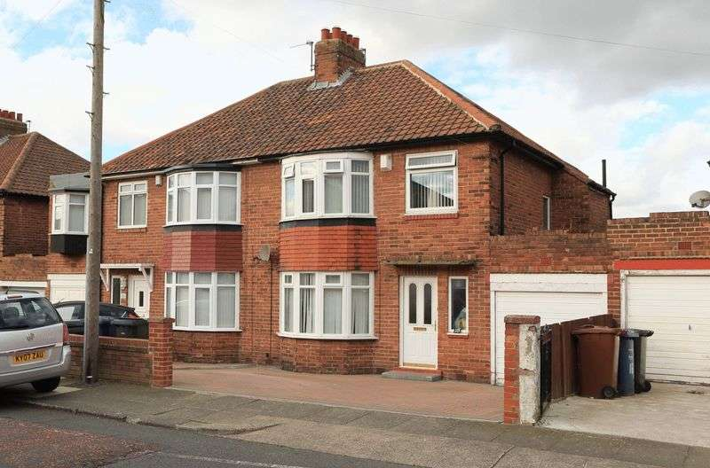 3 Bedrooms Semi Detached House for sale in Stocksfield Avenue, Newcastle Upon Tyne