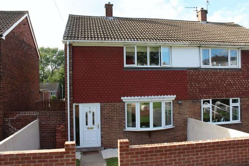2 Bedrooms Semi Detached House for sale in Byron Close, Knottingley