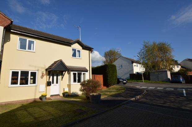 3 Bedrooms Semi Detached House for sale in Pennington Close, Copplestone, Crediton, Devon