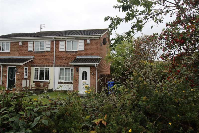 2 Bedrooms Semi Detached House for sale in Hauxley Drive, Northburn Dale, Cramlington