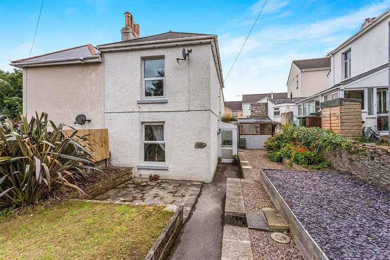 2 Bedrooms Semi Detached House for sale in Laira Gardens, Plymouth, PL3