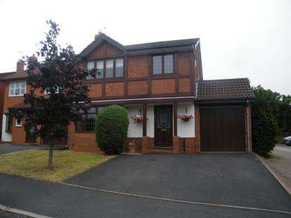 4 Bedrooms Detached House for sale in Ploughmans Walk, Stoke Heath, Bromsgrove, Worcestershire