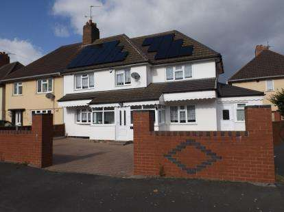 5 Bedrooms Semi Detached House for sale in Banfield Road, Wednesbury, West Midlands