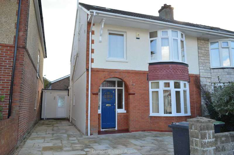 4 Bedrooms Semi Detached House for sale in Grove Avenue, Gosport