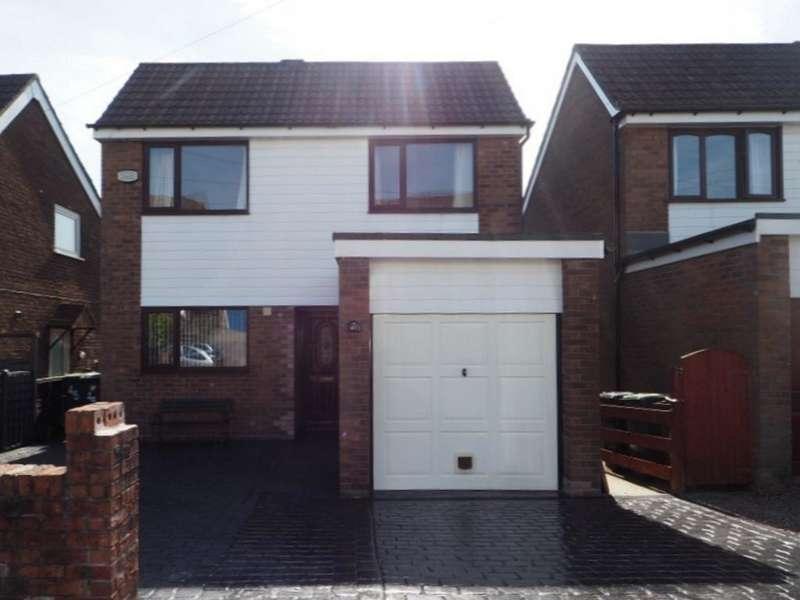 4 Bedrooms Detached House for sale in Parkway, New Mills, High Peak, Derbyshire, SK22 4DU