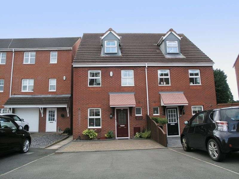 3 Bedrooms Semi Detached House for sale in BRIERLEY HILL, Quarry Bank, Bickon Drive