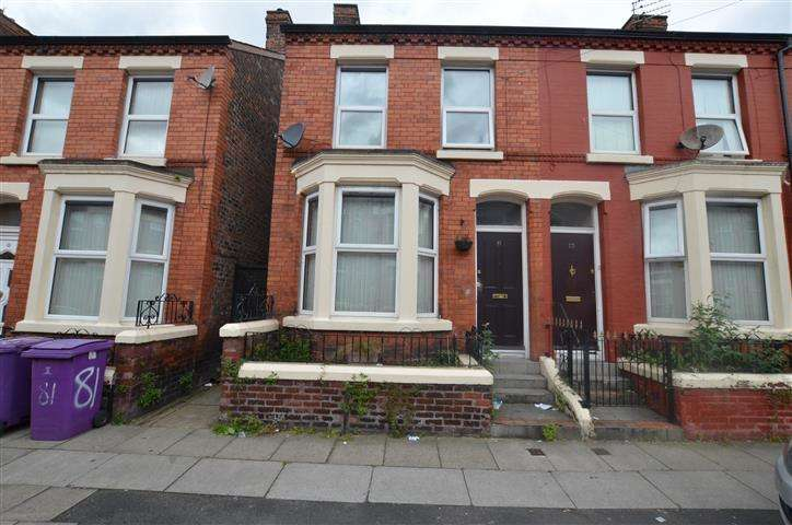 3 Bedrooms End Of Terrace House for sale in Thornycroft Road, Liverpool, Merseyside, L15