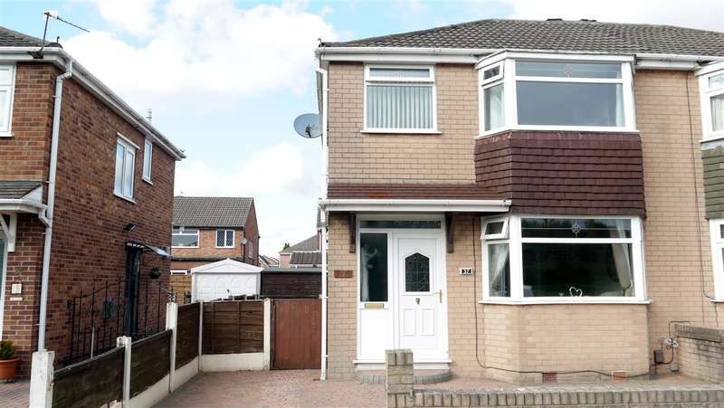 3 Bedrooms Semi Detached House for sale in Riverside Avenue, Irlam, Manchester