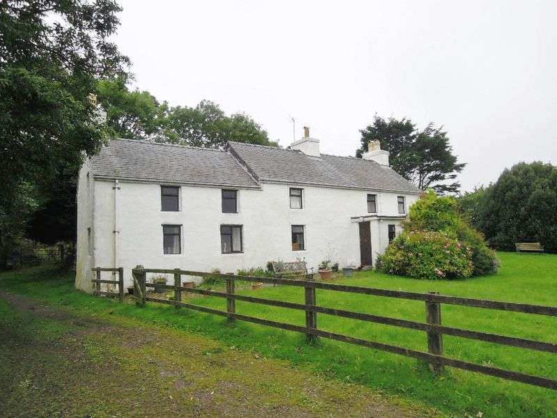 2 Bedrooms Detached House for sale in Glen Truan, Bride with 8 acres